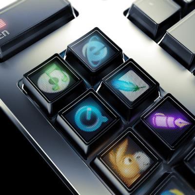 OLED鍵盤 : Optimus Maximus