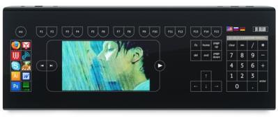 全螢幕觸碰鍵盤 : Optimus Tactus